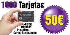 Si necesitas tarjetas de visita, te ofrecemos 1000 tarjetas por 50€ con diseño completamente gratuito. Sólo en NCS Marbella.