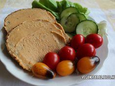 Édesburgonya pástétom Vegetarian Recepies, Vegan Recipes, Vegas, Eat Pray Love, Going Vegan, Healthy Life, Delish, Food And Drink, Low Carb