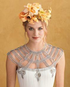 frida kahlo inspiaration hair style | Get Wedding-Ready Guide | Martha Stewart Weddings