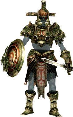 """Le soldat fantôme  Il est insensible aux coups de Link puisqu'il est mort (d'où son nom). Après avoir appris la septième et dernière botte à Link, il laisse planer le doute sur un éventuel lien de parenté entre Link et lui, en terminant sa phrase par """"mon fils"""". Cela est cependant à prendre avec des pincettes : il peut effectivement s'agit d'une traduction littérale du terme anglais """"Son"""", que beaucoup utilisent pour parler à un garçon ou un jeune homme qu'ils affectionnent particulièrement."""