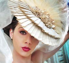 Off the Beaten Path: Avant-Garde Bridal Hats