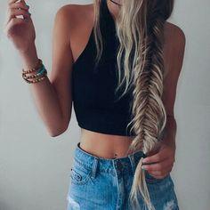 That braid, so pretty