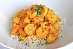 Creamy Turmeric Shrimps - I Adore Food!
