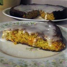 Moist and Light Carrot Cake