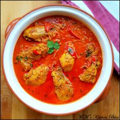 MM's Kitchen Bites: Hungarian Chicken Paprikash… simple & satisfying on every level, warming, nourishing & filling, rich velvety smooth flavor…full fat and low cal versions