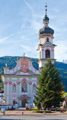 Goetzens near Innsbruck, Tyrol, Austria Innsbruck, Visit Austria, Austria Travel, Amazing Places On Earth, Beautiful Places In The World, Oahu, Hallstatt, Baroque Architecture, Vienna