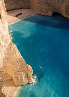 Where we want to be. Navagio Bay, Greece