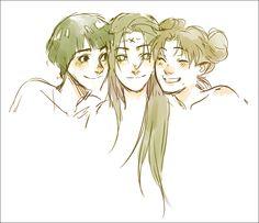 Naruto - Lee, Neji and Tenten