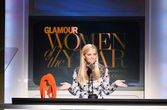"Reese Witherspoon's Moving Speech at Glamour's Women of the Year: ""Like Elle Woods, I Do Not Like to be Underestimated."""