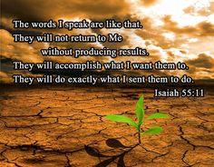 Isaiah 55:11   Isaiah 55 11 b   Flickr - Photo Sharing!