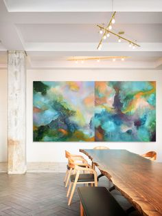 'Float' Diptych by Catherine Roberts Artist Profile, Buy Art Online, Dining Table, Inspire, Gallery, Painting, Inspiration, Furniture, Home Decor