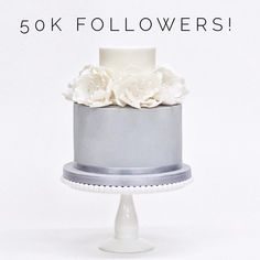 Wow 50k followers! Thank you so much lovely cake fans for following us on our journey. We have so many exciting things coming up for the second half of 2017 and lots to share. We've been very busy with cakes and wedding cakes for our wonderful customers so thank you for being patient with us We can't wait to show you what we've been up to and what we have planned!