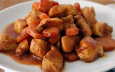 Sauté de Poulet aux Carottes et Sauce Soja WW – Plat et Recette Chicken stir-fry with carrots and WW soy sauce, recipe for a good chicken dish with Asian flavors, light, express and very easy to make Vegetarian Vegetable Soup, Vegetable Soup Recipes, Easy Soup Recipes, Vegetarian Recipes Easy, Potato Recipes, Healthy Recipes On A Budget, Healthy Eating Recipes, Budget Meals, Groceries Budget
