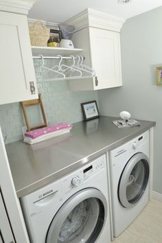 Do you have any ideas for small laundry room design? Well, it's true, every house needs a laundry room. Laundry Room Remodel, Laundry Closet, Small Laundry Rooms, Laundry Room Organization, Laundry Room Design, Laundry In Bathroom, Laundry Area, Laundry Decor, Garage Laundry