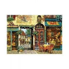 inShop webáruház > Educa La Palette Notre Dame, Viktor Shvaiko puzzle, 1000 darabos