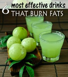 6 Most Effective Drinks That Burn Fats