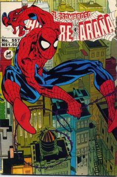 Cover for El Asombroso Hombre Araña (Novedades 1980 serie) #557 - Octobre 1993