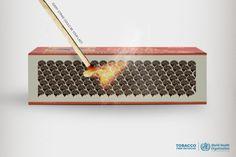 Tobacco Free Initiative Print Campaign