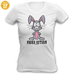Ostern Girlie-Shirt Frohe Ostern zum Osterfest (*Partner-Link)