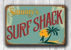 Surf Signs Decor Beauteous Surf Shop Vintage Sign  Boys Room  Pinterest  Vintage Signs Decorating Design
