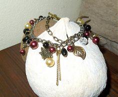 havranka / Náramok Handmade Jewelry, Charmed, Bracelets, Fashion, Moda, Handmade Jewellery, Fashion Styles, Jewellery Making, Diy Jewelry