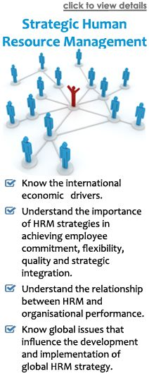 The course covers an overview of Human Resource Management, as well as how good strategies can help improve an organization's performance. It is imperative for a HR Manager to understand the fundamentals of human resource management, as well as understand the HR strategies adopted world-wide, including how these benefit an enterprise. The course's contents helps in understanding how to effectively strategize as well as efficiently manage human resource in an organization.