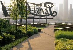 More from LIC....the infamous Pepsi sign in Long Island City by Gantry Plaza Park. NYC.
