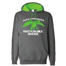 This comfortable Duck Commander sweatshirt features the classic kangarooo front pocket and a comfortable fleece interior. The hood is double...