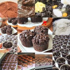 """5,507 Likes, 593 Comments - Tintin Rayner (@tintinrayner) on Instagram: """"THE BEST CHOCOLATE MUFFIN EVER  Highly Recomended Anti gagal,No Mixer,Semua pasti bisa bikin ^^…"""""""