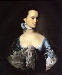 Portrait of Elizabeth Deering Wentworth Gould Rogers (also known as Mr. Nathaniel Rogers) - John Singleton Copley