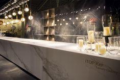 ITOPKER Luxury Gallery es la presentación en Mercado Colón de Valencia, donde las nuevas superficies ITOPKER destacan como obras de arte.