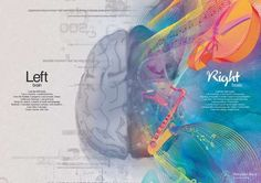 Split-Brained Campaigns - This Mercedes Benz Advertisement Gets Analytically Colorful (GALLERY)