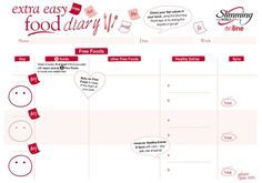 Does anyone have a printable SW diary please? Slimming World Meal Planner, Slimming World Journal, Slimming World Survival, Aldi Slimming World, Slimming World Speed Food, Slimming World Trifle, Lose Weight In A Week, How To Lose Weight Fast, Iceland Slimming World
