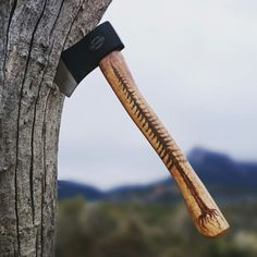 Custom hatchet. Custom hatchet.