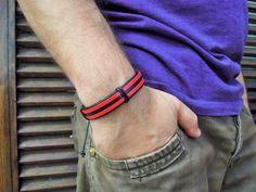 Men's Bracelet, mens leather bracelet, mens bracelet, genuine leather ,Men's Jewelry ,Bracelets For Men , Men's Gift , wrap bracelets , wrap by leatheristanbul on Etsy