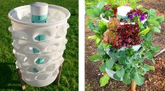 The revolutionary composting vertical food garden that transforms your kitchen scraps into organic fertilizer for fast, abundant growth
