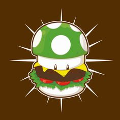 Lunch Time for a Plumber #Mario #nintendo #videogames
