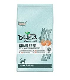 Amazon : Purina Beyond Natural Grain Free Ocean Whitefish & Egg Recipe Dry Cat Food