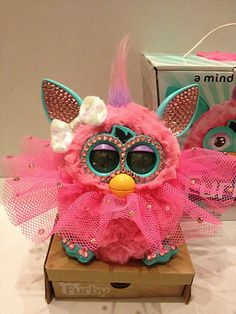 Holiday Bling SWAROVSKI Edition Furby  #Furby