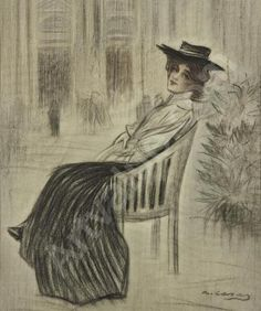 ~ Ramon Casas i Carbó ~ (Spanish: 1866-1932)