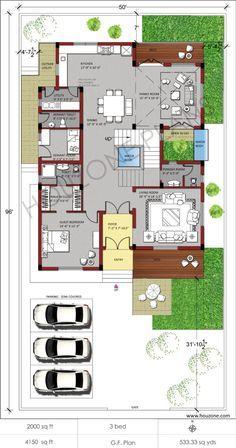 Houzone House Designs Floor Plans Interiors Custom Made For You Order Online House Plans Custom Design House Plans House Design