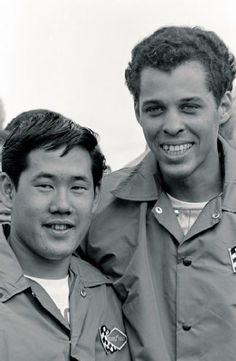 Roland Leong and Don Prudhomme