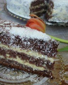 Adela Zilahi: Tort de ciocolata cu crema de cocos