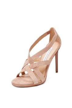 DVF Siracusa Suede Strappy Sandal