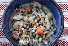 Creamy Turkey and Rice Soup
