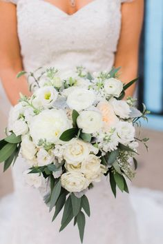 pastel bouquet - photo by Artistrie Co http://ruffledblog.com/modern-whimsical-wedding #weddingbouquet #bouquets