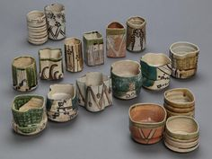 "Exhibition of Tea ware unearthed in Kyoto., ""Hyougeta Utsuwa,""from the end of the 1500's."
