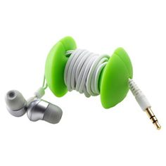 Applecore Earbud Wrap from The Container Store
