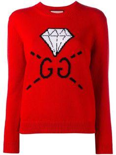 4e9d0c9aeda GUCCI diamond intarsia jumper.  gucci  cloth  jumper