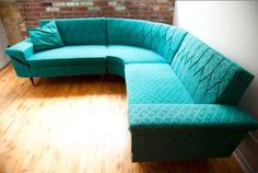 amaaaazeballs. I have a very similar couch in brown that needs to be reupholstered something fierce. I think I just found the color I'm going with!!